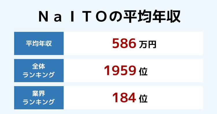 NaITOの平均年収